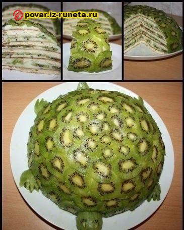 Черепаха торт рецепты