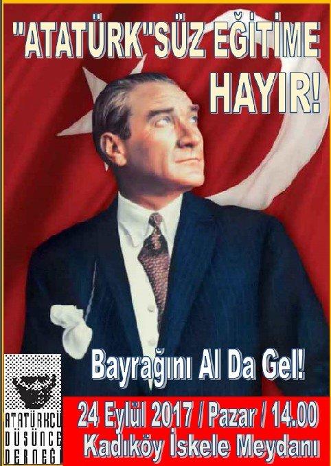 SAAT 21.00 DE #Atatürksüzeğitimehayır ht...