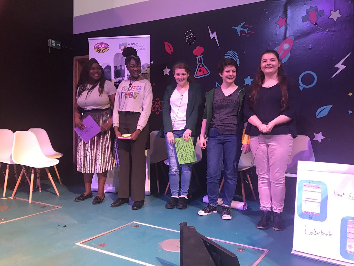 Well done to Girl Power, Volts and Jolts and Fishing Fusion for their exceptional @VenturefestScot venturejam pitches! #innovate #energy <br>http://pic.twitter.com/7Meuxe7P6C &ndash; at Glasgow Science Centre