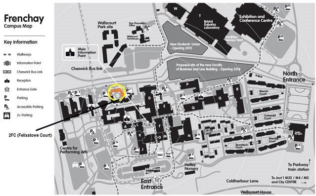Uwe Campus Map UWE Wellbeing on Twitter: