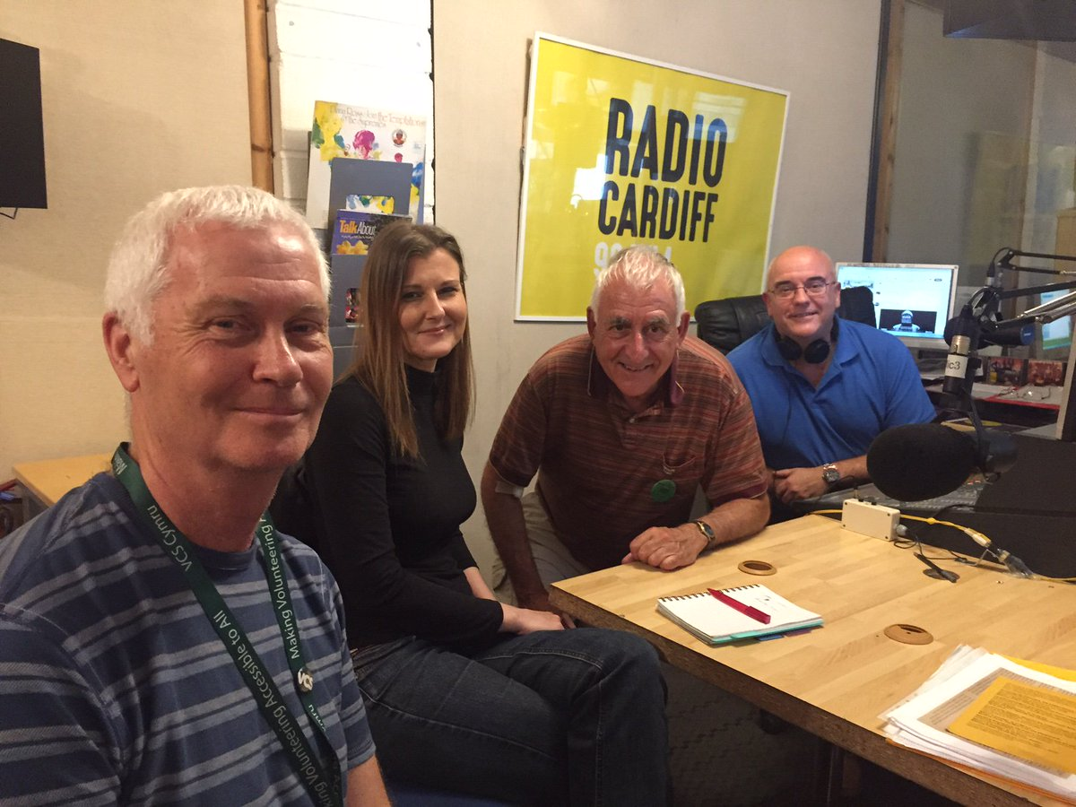 Thank you to our volunteers and guests Ian and Kathryn @GrassrootsCF10 for featuring @RadioCardiff yesterday with our #heritage documentary! <br>http://pic.twitter.com/nw8mNISWJu