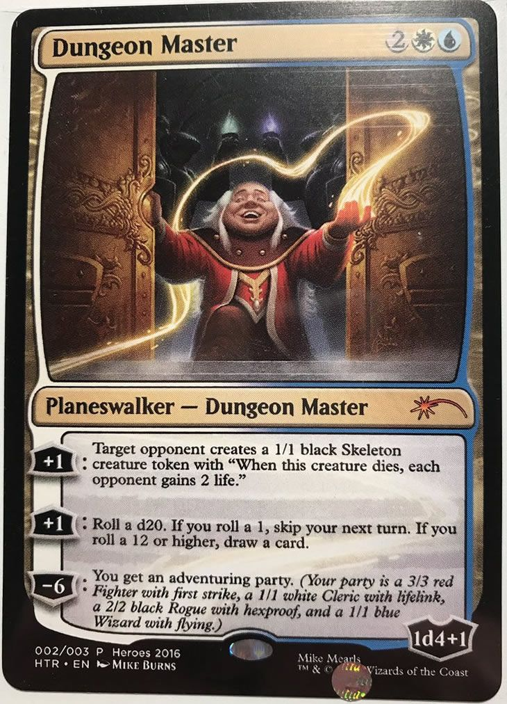 Manaleakcom Mtguk On Twitter One Of Four Dungeon Master Cards