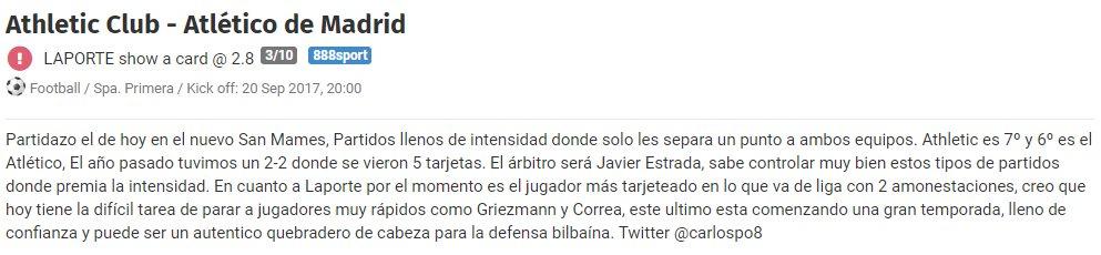 Pick  https:// tabascopicks.blogabet.com/pick/18305507/ athletic-club-atl-tico-de-madrid &nbsp; …   #FelizMiercoles  #win #AthleticAtleti  #apuestas #LigaSantander<br>http://pic.twitter.com/2olLNwsiV5