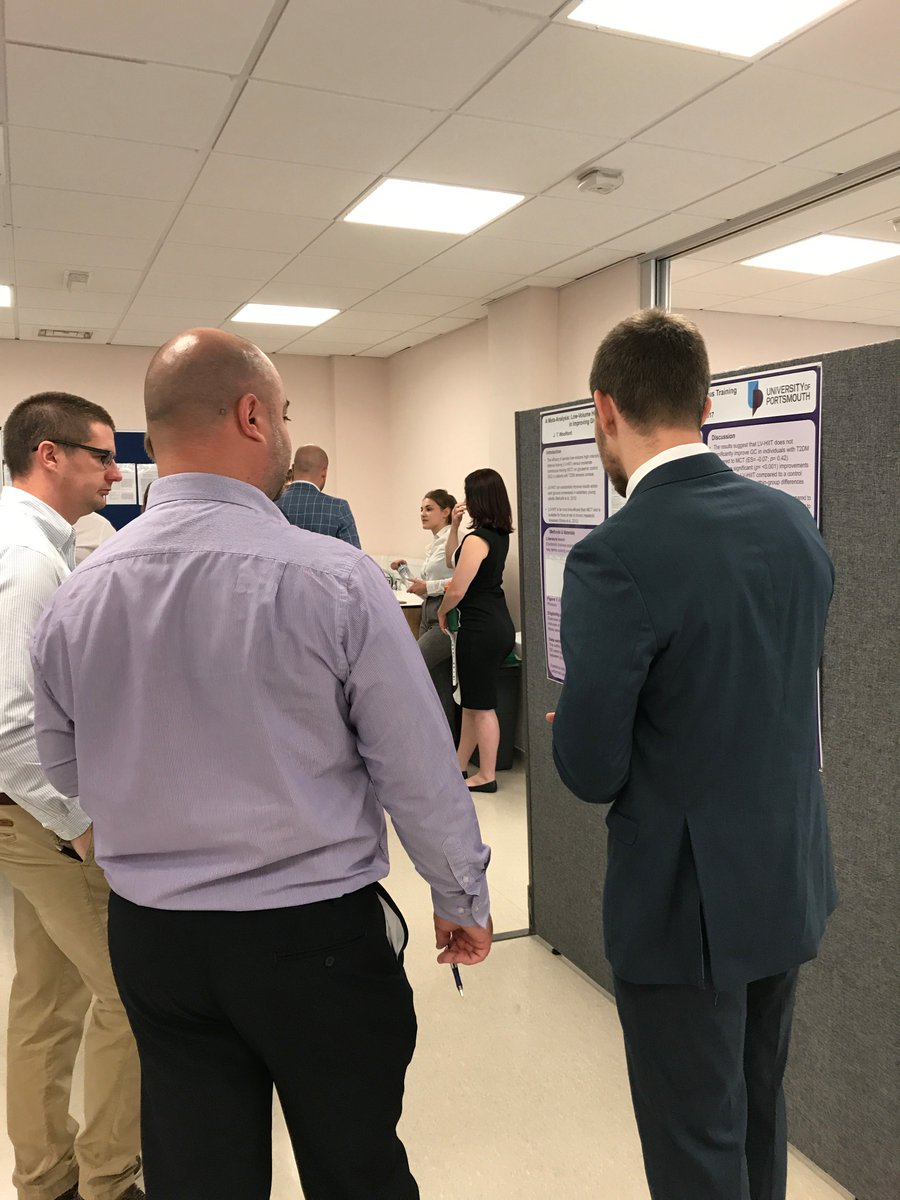 MSc Poster Day in full swing now! Good luck to all our @UoPSportScience MSc students #dissemination #practicalapplications<br>http://pic.twitter.com/1SXEEMoSRr