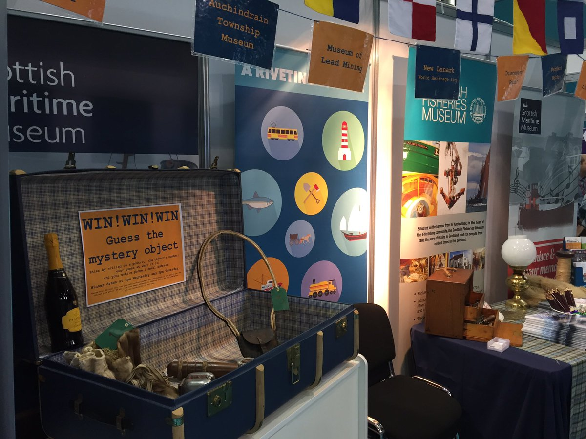 We&#39;re at the #scottishlearningfestival and ready to rivet our visitors  find us in the #heritage village #FREEsweeties #GoIndustrial<br>http://pic.twitter.com/9eHz8DmpaW &ndash; at SECC