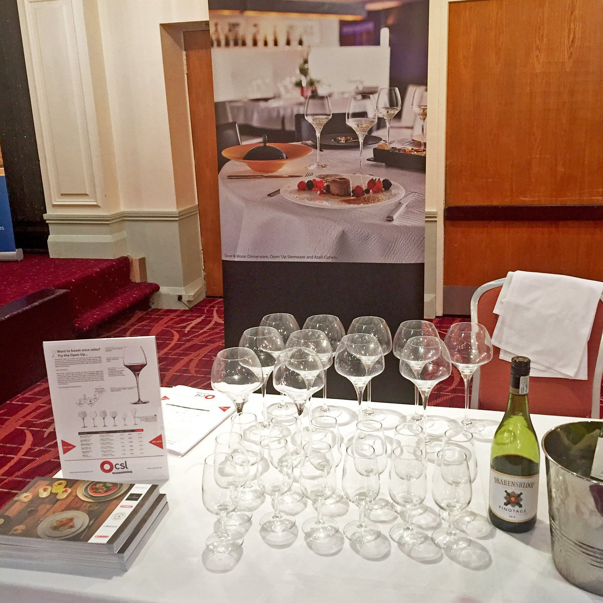 Arc Tableware UK on Twitter \ Catch us at the CSL Catering Trade Show today! @CSLCatering CSL Catering Supplies #WineTasting #Wine #Stemware ... & Arc Tableware UK on Twitter: \
