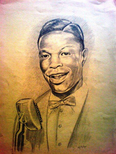 Here&#39;s more, my pencil illustrations of musician the great #NatKingCole #art  #sepia #pencil #drawings #music #soul #Jazz<br>http://pic.twitter.com/WFwuqb3tV2