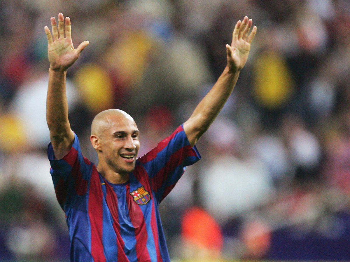 Henrik Larsson became a #UCL winner in 2006 in his final game for Barcelona!  <br>http://pic.twitter.com/EiRmbEXA0Y