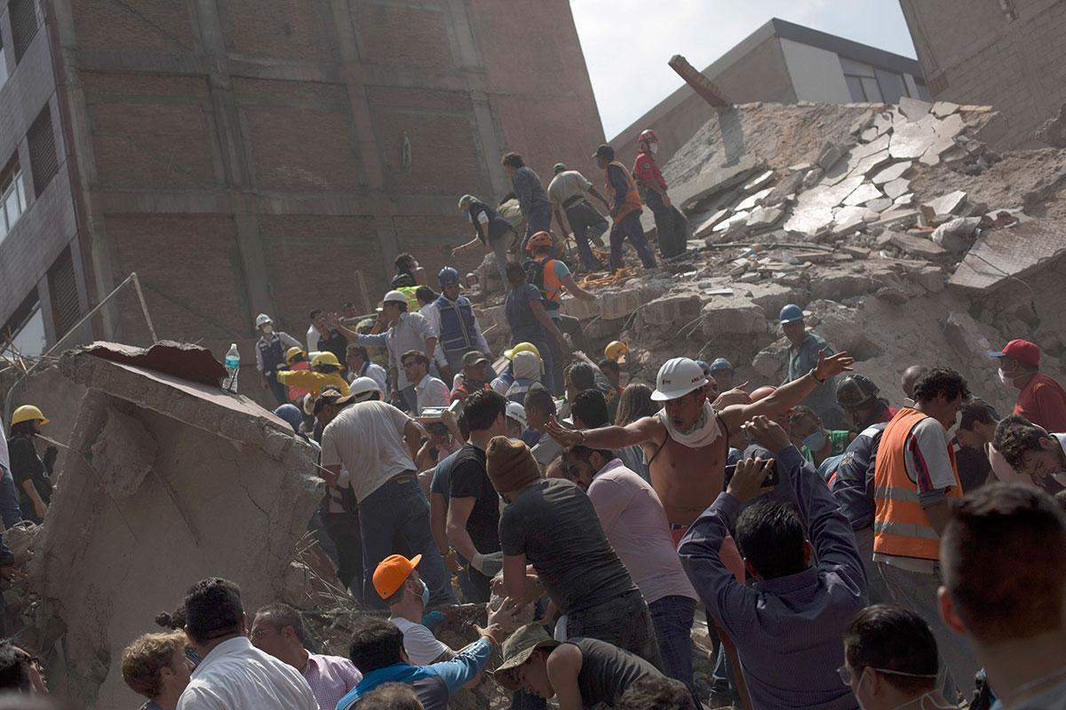 Mexico hit by second huge quake caused by same tectonic strain https://t.co/vdFXNHsxGq