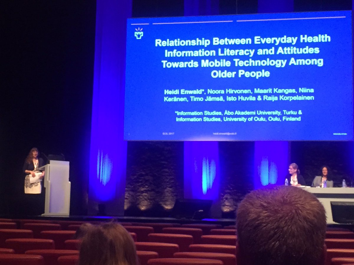 HEnwald on #mobile #technology use and #health #informationliteracy of #olderadults #ecil2017 #hiba  https://www. conftool.pro/ecil2017/index .php?page=browseSessions&amp;form_session=80 &nbsp; … <br>http://pic.twitter.com/QG3y6RbEbl