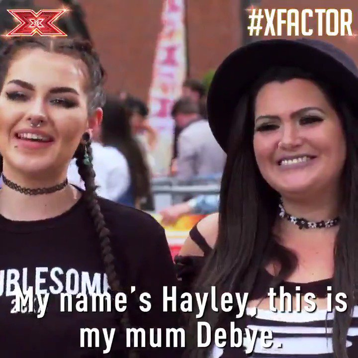 Like mother, like daughter - hit the heart if your mum's your best friend too! 💖 #XFactor @Descendance9677 https://t.co/2up39xKk0P