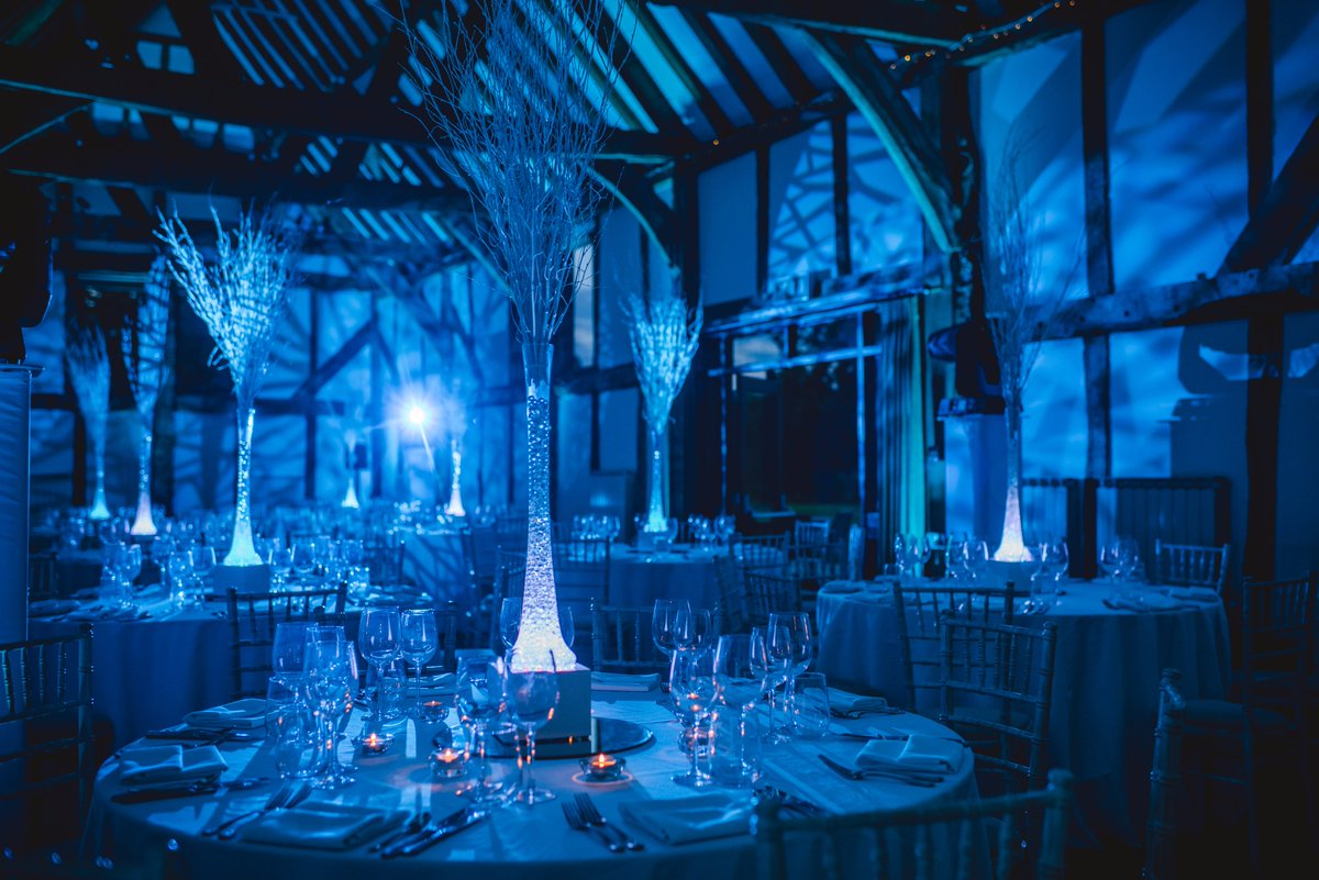 The stunning Tithe Barn at #LoseleyPark is the perfect festive setting for your #Christmasparty from 50 to 150 guests.  Contact 01483 405119