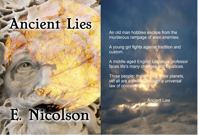 What do three people on three planets from three times have in common? Ancient Lies. #scifi #three #indieauthor  http://www. amazon.com/-/e/B008P3P5LS  &nbsp;  <br>http://pic.twitter.com/Qj1hDTMlih