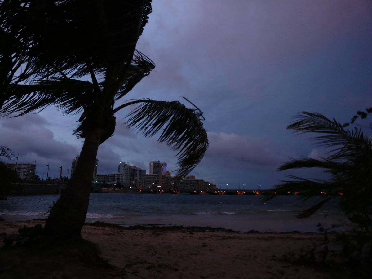 Monster Hurricane Maria makes landfall in Puerto Rico with powerful 155mph winds, strongest to hit the island in 85 years  #climate #besafe <br>http://pic.twitter.com/PSrXvF6FyD