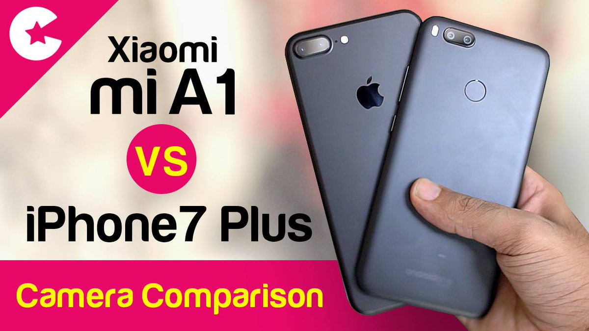Xiaomi Mi Vs Iphone  Plus