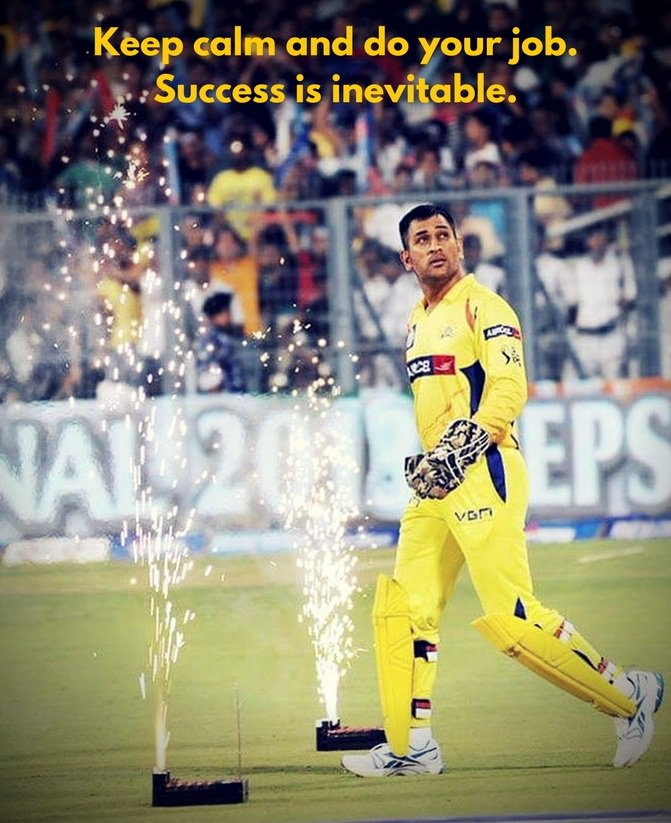 It's all about consistency. 🦁🧡 #WednesdayWisdom #WhistlePodu https://t...