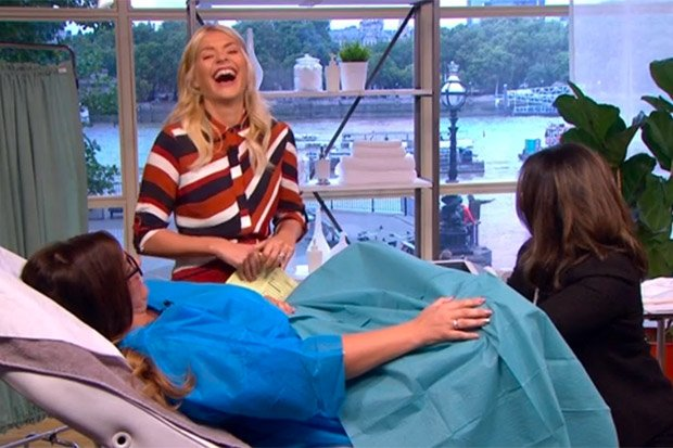 #ThisMorning viewers outraged as doctor uses 'great big hot vibrator' on woman on live tv https://t.co/UoIfZApuSe