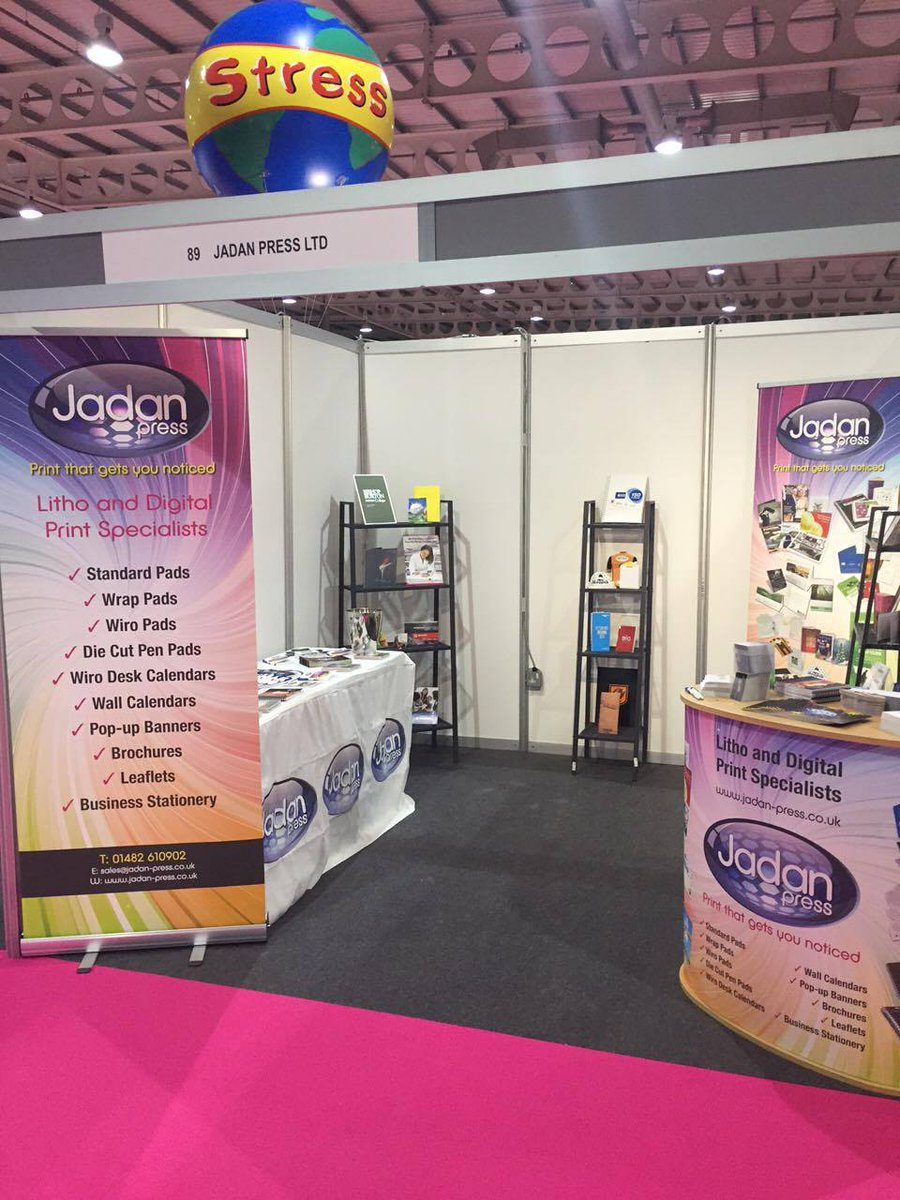 Day 2 of @MerchWorld_UK - come and see us and say hi if you&#39;re around, we&#39;re on Stand 89. #print #brochures #design #stationery<br>http://pic.twitter.com/wpnlHFzPJ1