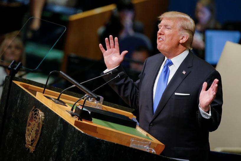 Trump's U.N. speech shows nationalist instincts firmly intact https://t.co/UPgFDFA3pe https://t.co/jQ9fVQ0pak