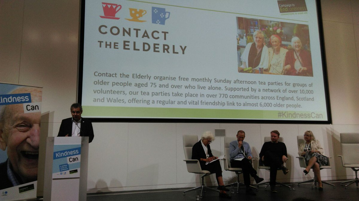 our acting CEO Cliff Rich speaking at the @EndLonelinessUK conference on CtE tea parties & how they fight loneliness #KindnessCanpic.twitter.com/iYZNK2xhhX