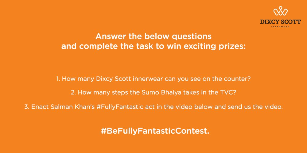 Our contest is on! Follow our page and see our previous Tweet to Participate!! #Contest #ContestAlert #ContestInIndia #SalmanKhan <br>http://pic.twitter.com/3ZAFY0JXzj