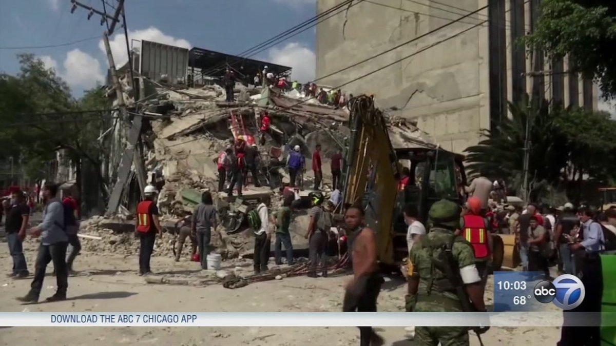 Mexico quake kills 217; children trapped in collapsed school: https://t.co/GTibwsoZt7