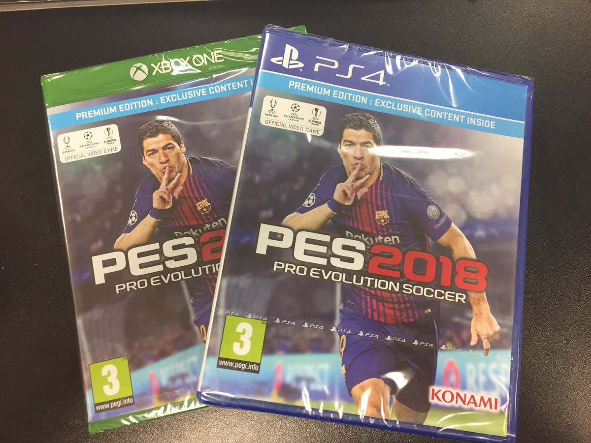 San Garnier S3 On Twitter I Have 2 Copies Of Pes 2018 To Give Sony Ps4 Pro Evolution Soccer Premium Edition Away 1 Rt This Reply With Your Console 17 18 Ucl Winner