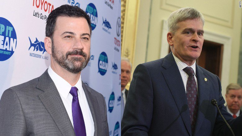 Jimmy Kimmel takes on the new health care bill, saying Sen. Bill Cassidy lied 'right to my face' https://t.co/DU203rxUp3