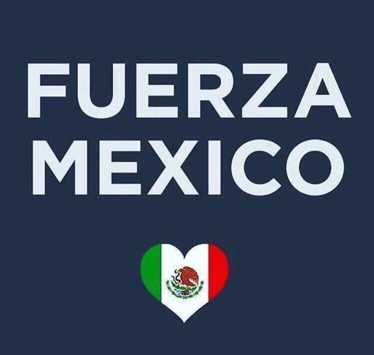 Todo mi apoyo al pueblo mejicano.Mucha fuerza! https://t.co/oXwC4j4uMV