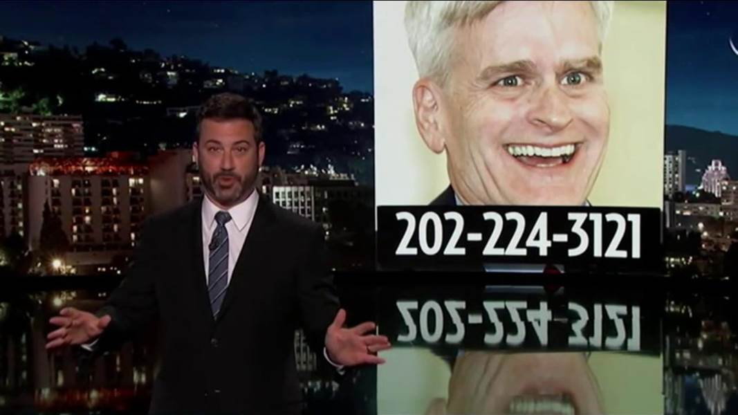 Jimmy Kimmel: Bill Cassidy lied right to my face about healthcare https://t.co/CE0fUeJ44s