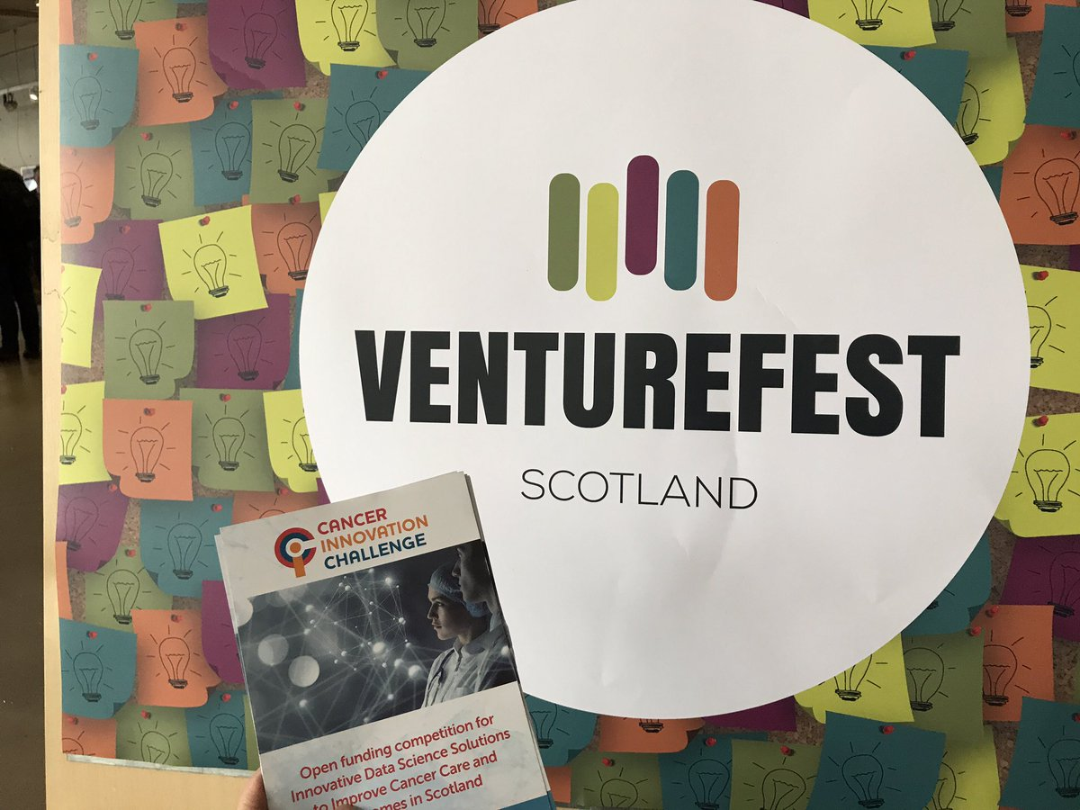 Spreading the word @VenturefestScot about our open innovation funding opportunity! #DataSavesLives <br>http://pic.twitter.com/Igvb9C3aww