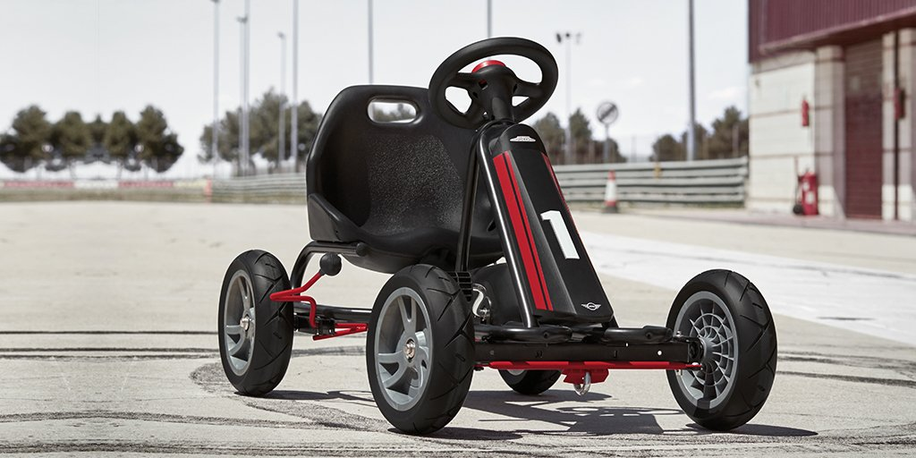 """MINI On Twitter: """"The Real Go-kart Feeling For Every Age"""