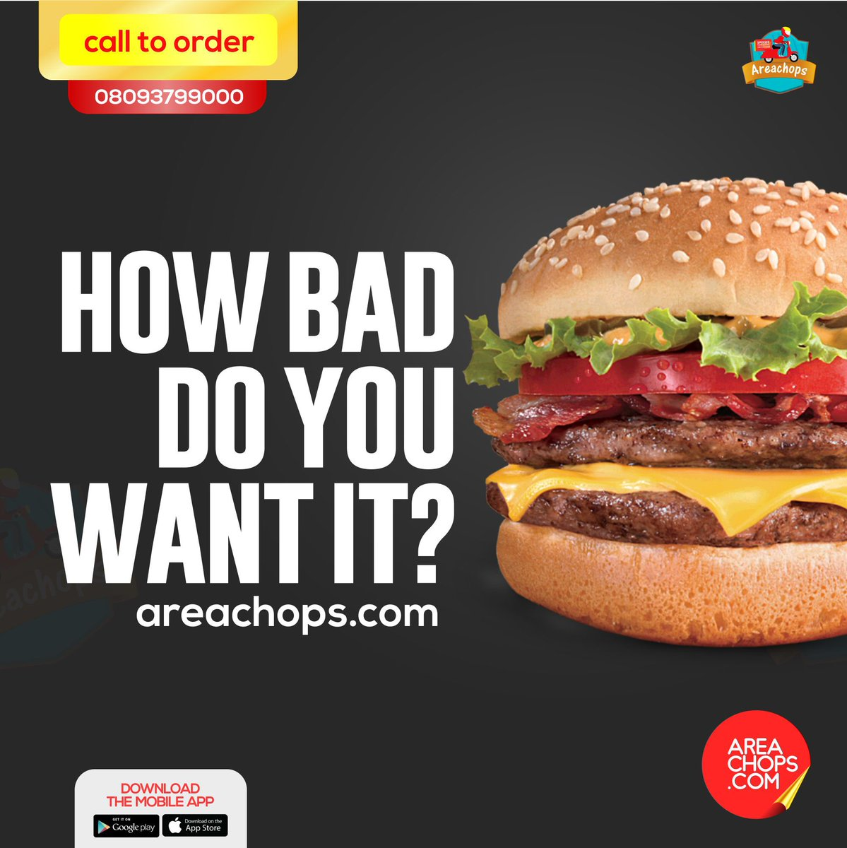 http://www. areachops.com  &nbsp;   or call us +234 809 379 9000 if you want this ...  #areachops #restaurants #burgers #fries #order #online #lagos<br>http://pic.twitter.com/Tlr5Xy0K8j