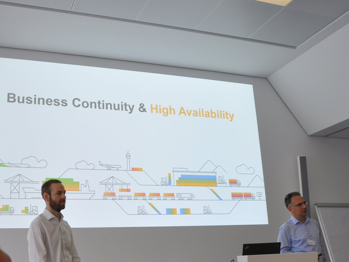 Just finished my session together with @GoranCondric about high availability @_DSAG + #SAPonMS #SAP workgroup - thanks to all attendees!! <br>http://pic.twitter.com/BhjX5UMtE7