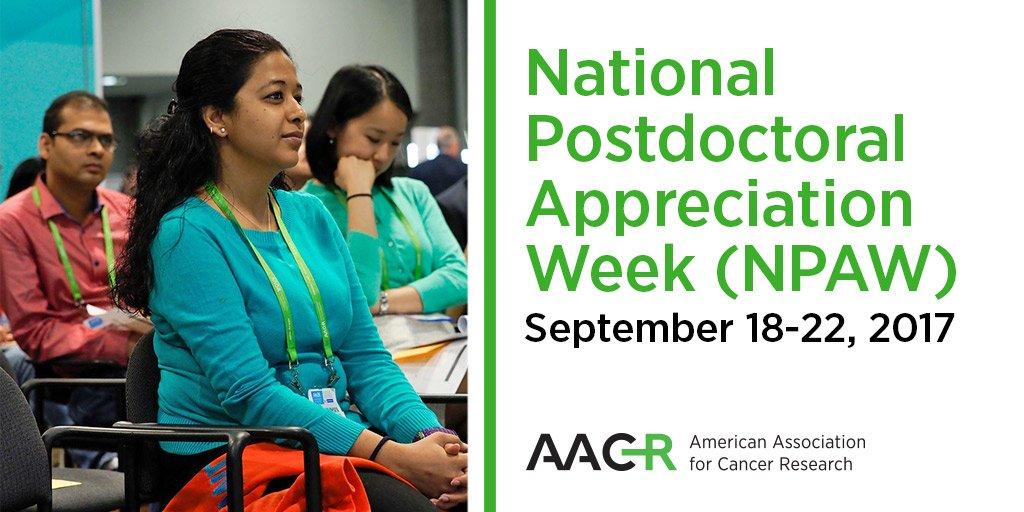 postdoc appreciation week npaw 2014 institutionally marked