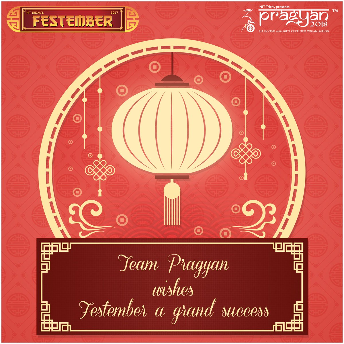 #Pragyan wishes the rising and raving @festember 2017 the very best for coming through with flying colours. #RiseAndRave #Festember<br>http://pic.twitter.com/AMMK3stpIo