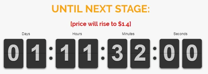 The first #Investors start to join our #ICO. Please hurry, because in 1 days the price of 1 token will grow to $1.4. #EstateCoin #ICOs #btc<br>http://pic.twitter.com/xZhm5O5dur