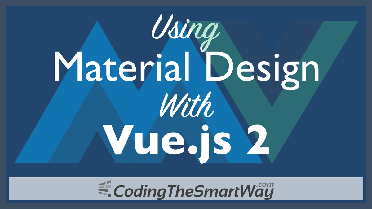 Check out the free video tutorial: Using Material Design With #Vuejs  http:// codingthesmartway.com/using-material -design-with-vue-js-2/ &nbsp; …  #webdev #frontend #javascript #nodejs<br>http://pic.twitter.com/vDTzgx6osS