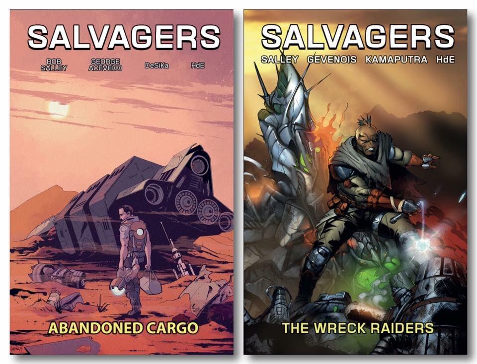 Grab Vol. 1 &amp; 2 on our Kickstarter Today! #Scifi #comics #NCBD    http://www. GoSalvagers.com  &nbsp;   <br>http://pic.twitter.com/SInU6Y1VXA