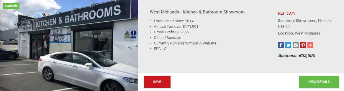 REF: 5879 -West #Midlands - #Kitchen &amp; #Bathroom #Showroom  http://www. blacksbrokers.com/5879/business. aspx#.WcJi-u1yV-U.twitter &nbsp; …  #blacksbusinessbrokers #leasehold #WestMidlands #business<br>http://pic.twitter.com/hRJoBbm5mu