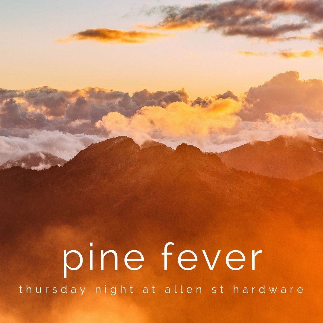 Pine Fever is back tomorrow night! #allentown