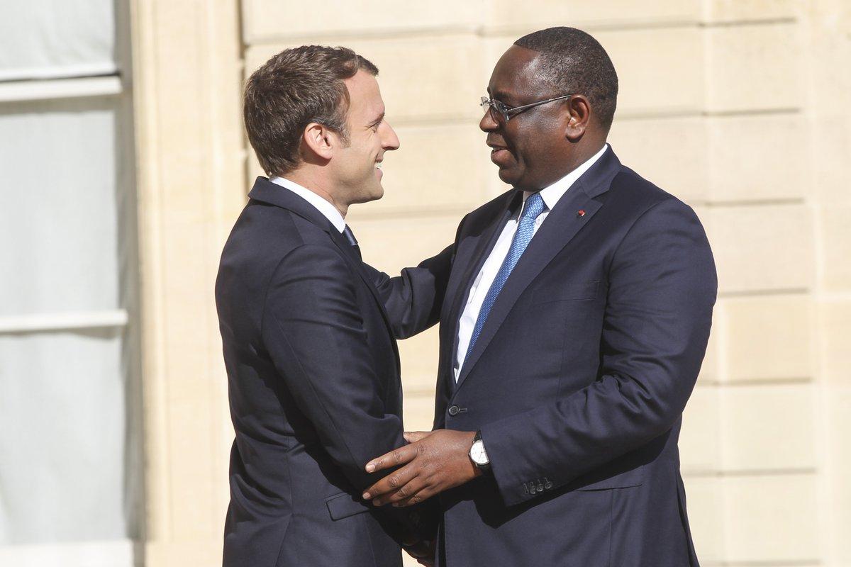 #Senegal and #France to host @GPforEducation Financing Conference @Elysee @PR_Senegal @EmmanuelMacron @Macky_Sall  http:// APO.af/50n6rL  &nbsp;  <br>http://pic.twitter.com/FsWLYQD6QE