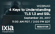 Are you ready for TLS 1.3? Ephemeral keys? Join Ixia for a webinar today to learn Register:  https:// hubs.ly/H08Fts70  &nbsp;   #Ixiacom #encryption<br>http://pic.twitter.com/iY8bBx5j9J