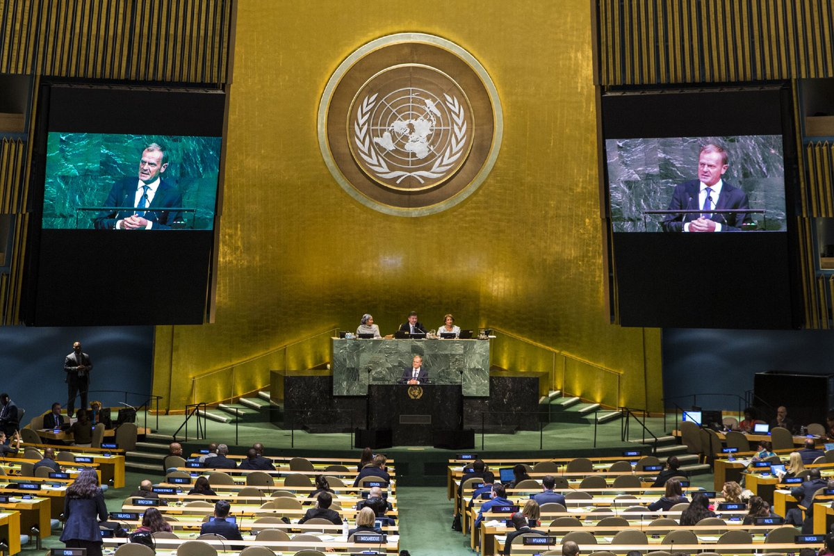 Many believe UN gathers those who don't give up on ethics in politics in name of egoistic interests. Let's show'em their trust is justified.
