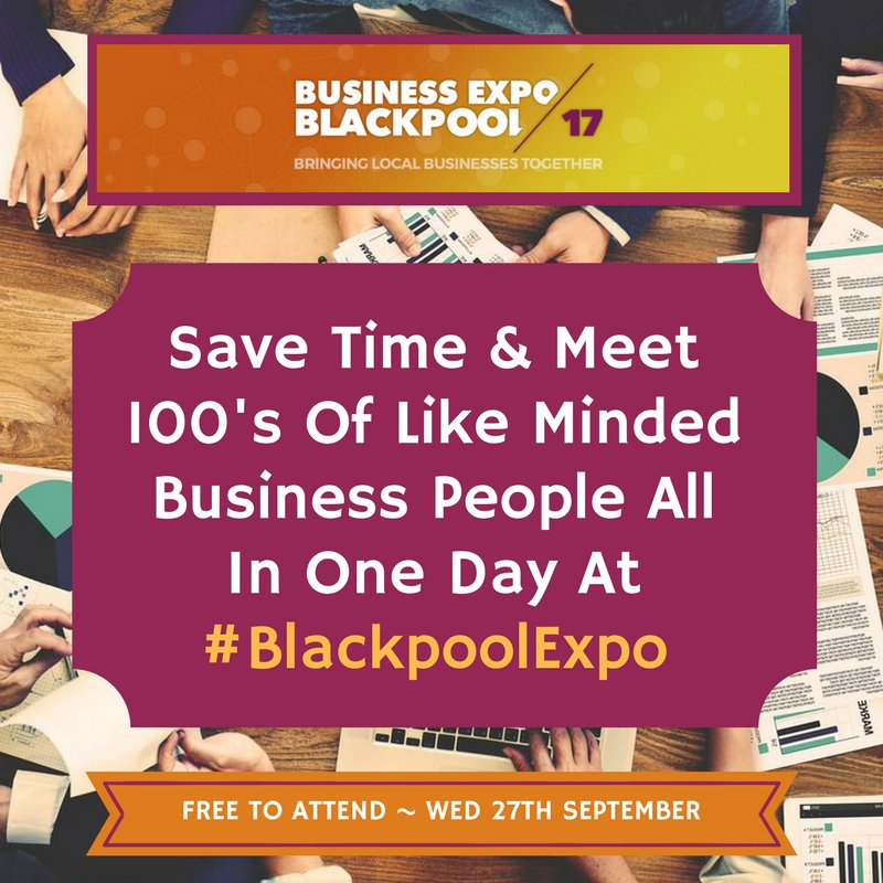 #Network with #local #businesses from in &amp; around #Blackpool for FREE at #BlackpoolExpo! Register today  https:// buff.ly/2yeXaNP  &nbsp;   #Lancashire<br>http://pic.twitter.com/D2M37nHqph