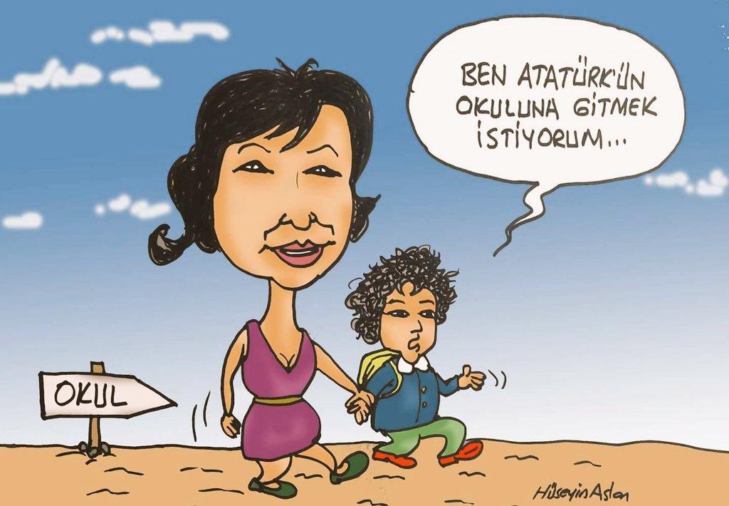 #AtatürksüzEğitimeHayır  Benim Baş Öğret...