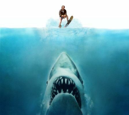 CELEBRATE: 40 years ago today Fonzie aka @hwinkler4real &#39;jumped the shark&#39;  #jaws #shark #fonzie #thefonz #happydays #jumptheshark #ski<br>http://pic.twitter.com/vOZYftoVx3