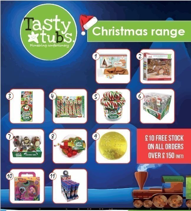 It&#39;s here!  Our #new #Christmas range! #Order #now for #delivery at the end of #September!  http:// wu.to/cil6EX  &nbsp;   #localshop #sweets #Xmas<br>http://pic.twitter.com/nxmSL73H6t