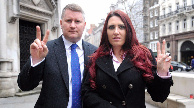 Britain First leader and deputy charged with religiously aggravated harassment https://t.co/qKngxk6Iad