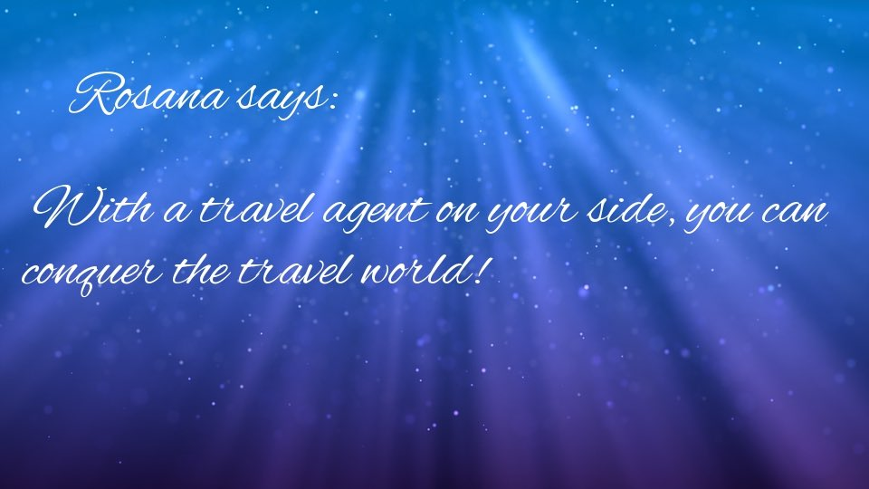 With a #travelagent on your #side, you can #conquer the #travel #world! #Traveltheworld to #discover #yourself #YouRock<br>http://pic.twitter.com/0cdRWCvdnL